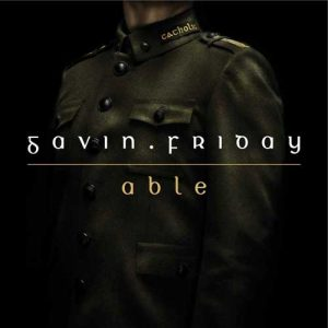 Gavin Friday - Able - Radio Promo - Sleeve
