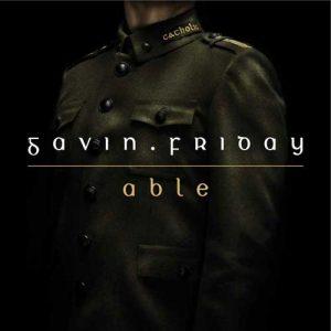 Gavin Friday - Able - Radio Promo - Sleeve