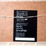 Gavin Friday - promotional item - Adam 'n' Eve litho (sticker)