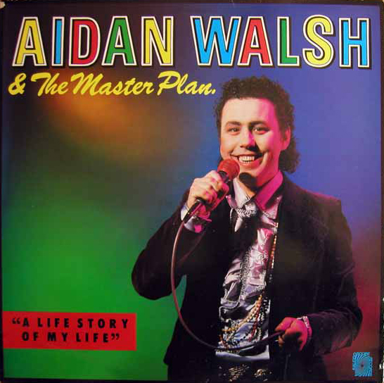 LP: Aidan Walsh - A Life Story of my Life - sleeve front