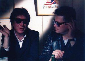 Simon Carmody and Gavin Friday
