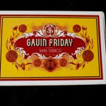Gavin Friday - Shag Tobacco - promotional item - cigar box