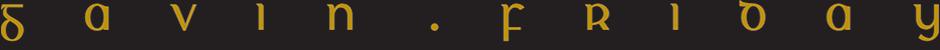 Gavin Friday - Official Site
